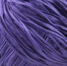 Tahki RIPPLE Mercerized Cotton 8.50 + 1.25ea to Ship - Iris 015 Purple - Soft, Thick & Thin, Variable Gauge Determines Texture. MSRP 12.00 by HollyPKnits on Etsy Mercerized Cotton Yarn, I Love This Yarn, Thick And Thin, All Things Purple, Different Textures, Yarns, Stitch Patterns, Aesthetics, Rainbow