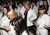 Cérémonie des sarraus blancs 2012 Podiatrie UQTR