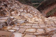 Salinas de Maras, Valle Sagrado. Perú