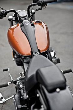 harley davidson softail blackline - Looks just like my husband's bike.  :) #harleydavidsonbobberssoftail