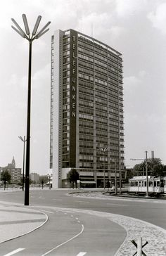 West Berlin. Ernst-Reuter-Platz. 1960s