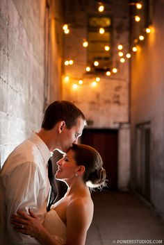 The enclosed alleyway outside of the ballroom. We thought it was pretty cool. Night Wedding Photography, Professional Wedding Photography, Couple Photography, Photography Studios, Photography Blogs, Cute Wedding Ideas, Wedding Pics, Wedding Shoot, Wedding Things