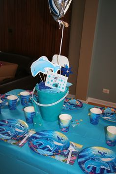 Dolphin Tale birthday party