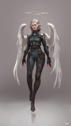 Sci-Fi Angel _ study by Sungryun Park on ArtStation.
