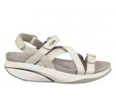 Tired to search perfect ladies casual shoes online? If yes, then try MBT Women's Kiburi White. Its masai sensor emulates the feeling of walking on sand Online Shopping Shoes, Shoes Online, Shoe Shops Uk, White Sandals, Perfect Woman, Walk On, Uk Online, White Leather, Casual Shoes