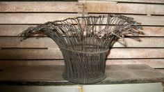 A personal favorite from my Etsy shop https://www.etsy.com/listing/277619676/vintage-french-wire-basket-french