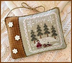 Little House Needleworks - Snowy Winter – Stoney Creek Online Store