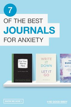 Journaling has been shown, through research, to reduce anxious and negative feelings, so it could be worth a try?We've taken a look at the different anxiety journals available, and compiled a list of the best seven for you to choose from.