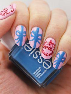 Spektor's Nails: Movie Nail Art: The Grand Budapest Hotel