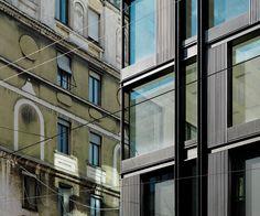 """Edificio """"La Serenissima"""" Via Turati 25/27 - MILANO 2010 - 2012"""