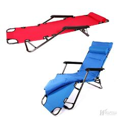 Colorful Camping Sun Lounger