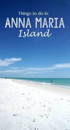 The top activities and eats in Anna Maria Island, Florida! This beautiful slice of heaven in the Gulf, near Tampa, where modern shops meet Old Florida charm