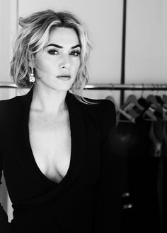 Kate Winslet; bold brows are IN.