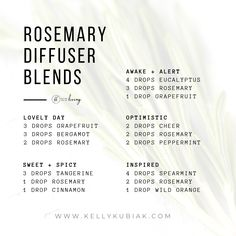 doTERRA Essential Oils Diffuser Blends with Rosemary Essential Oil Jacuzzi – Soak Your Inner Spirit Diy Essential Oil Diffuser, Essential Oil Carrier Oils, Essential Oils Guide, Doterra Essential Oils, Essential Oil Blends, Doterra Oil, Easential Oils, Essential Oil Combinations, Young Living Rosemary