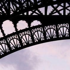 Eiffel Tower - Paris Decor France Photo - 8 x 8 - Fine Art Photography Print - French Home Decor Wall Art Paris Photo Sunset Black. $25,00, via Etsy.