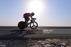 89th Road World Championships 2016 / Men Elite ITT Vasil KIRYIENKA (BLR)/ Silhouet / Lusail Sports Complex - The Pearl Qatar (40km)/ Individual Time Trial / WC /