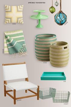 A few of my favorite, reasonably priced, spring items from World Market. Round Table And Chairs, Round Dining Table, Pedestal Dining Table, Dining Table In Kitchen, Counter Height Table, World Market, Floor Chair, Furniture Decor, Home Goods