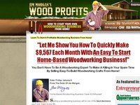 Woodprofits - $80 Per Sale With 3 Upsells! - 11% Conversions!