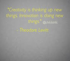 What new ideas are toying with today? I hope you're not just thinking about them but putting plans in place to make it happen.  #childish #creativity #innovation #socialinnovation  #thinklikeachild #weresochildish