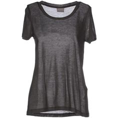 Vero Moda T-shirt (€55) ❤ liked on Polyvore featuring tops, t-shirts, lead, pocket t shirts, jersey tee, vero moda, pocket tee and short sleeve pocket tee