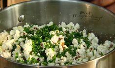 Popcorn met kruiden