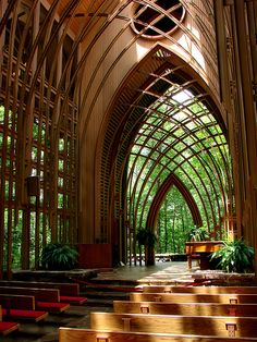 Mildred Cooper Memorial Chapel (Arkansas) - Fay Jones - 1988