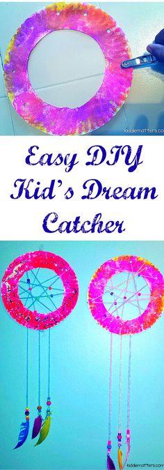 Easy DIY Kids Dream Catcher