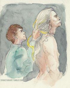 The Witcher Geralt, Geralt Of Rivia, Coin Toss, Black Butler, Fujoshi, Fantasy World, Fandoms, Drawings, Painting