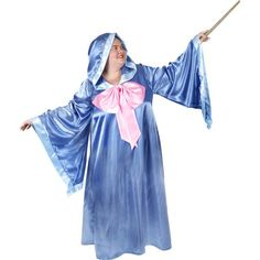 Want to show off your magical powers this Halloween? We've got just the trick. Our fairy godmother costume is going to transform you from a regular person to an