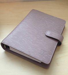 Authentic Louis Vuitton Epi Leather Agenda Lilac | eBay