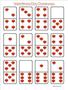 Free! Valentine's Day Dominoes