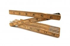 wooden folding ruler  my dad had one in his tool box