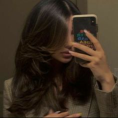 Cut My Hair, New Hair, Hair Cuts, Wavy Hair, Hair Inspo, Hair Inspiration, Aesthetic Hair, Dream Hair, Pretty Hairstyles
