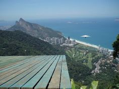 Tandem hang gliding in Rio. Felt like Lois Lane flying over the city with Superman.