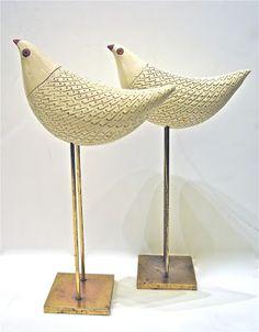 The End of History: Rare Birds  Aldo Londi for Bitossi