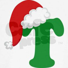 Christmas Letter T Alphabet T on CafePress.com