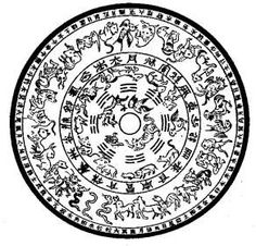Chronoacupuncture - The Sexagenary Cycle - 60 Day Cycle Bronze Mirror, Bronze Age, Chinese Calendar, Yellow River, I Ching, Asian History, Picture Search, Silk Road, Yin Yang