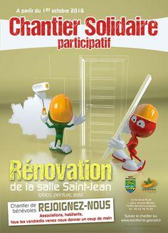 Affiche du Centre Social LARES réalisée par christophe@rohou.fr (www.christophe.rohou.fr)