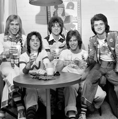 Bay City Rollers in March 1975