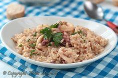 Ottimo come piatto unico di mare facile e sfizioso il risotto ai calamari è una…
