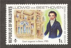 Pipe Organs of the World on Postage Stamps