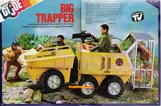GI Joe Adventure Team - Big Trapper