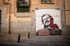 "Boa Mistura, ""poesìa bajo el blanco"", Madrid, Spain, 2011"