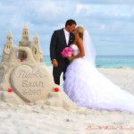 Elegant Wedding SandCastle - Destin