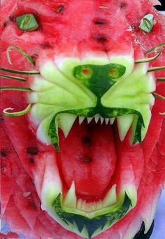 Watermelon Cougar. Wow!
