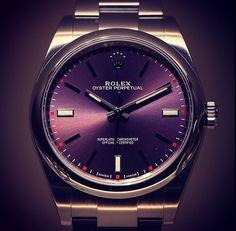 Rolex Oyster Perpetual Deep Purple