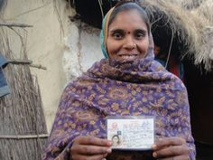 Koshila Devi Malli with her citizenship card. Learn how UNDP is helping the very poorest and most marginalized gain much-needed identification cards, allowing them to vote and access social services. Photo: Devendra Dhungana, UNDP Nepal