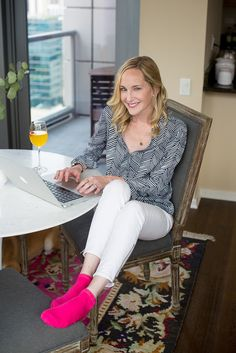 Working From Home With Apye Socks (and A Giveaway!) By Kelly In The City