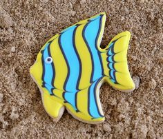 tropical fish cookies - Google Search
