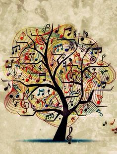 The tree of music.